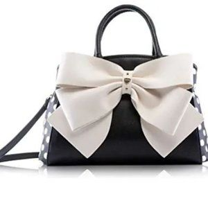 NWT Betsey Johnson Big Bow Satchel Shoulder Bag